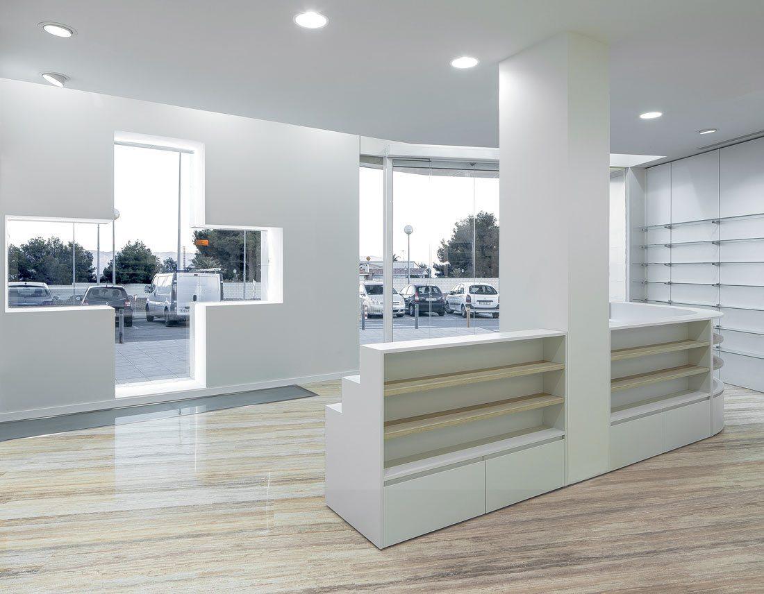 Homu Studio Farmacia Coloma # Muebles Farmacia