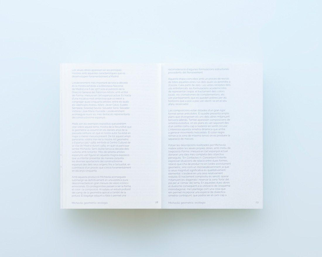diseño michavila. catálogo-textos.