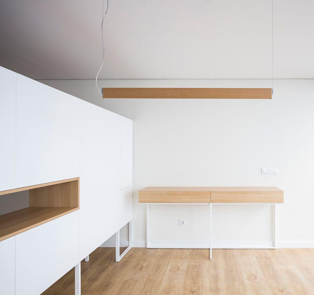 Interiorismo Valencia Reforma Adencia_de_viajes. Mueble Estudio.