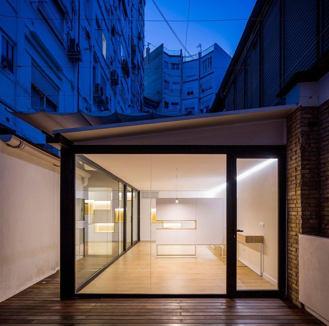 Caja de arquitectos valencia elegant reforma tico babel for Caja murcia valencia oficinas