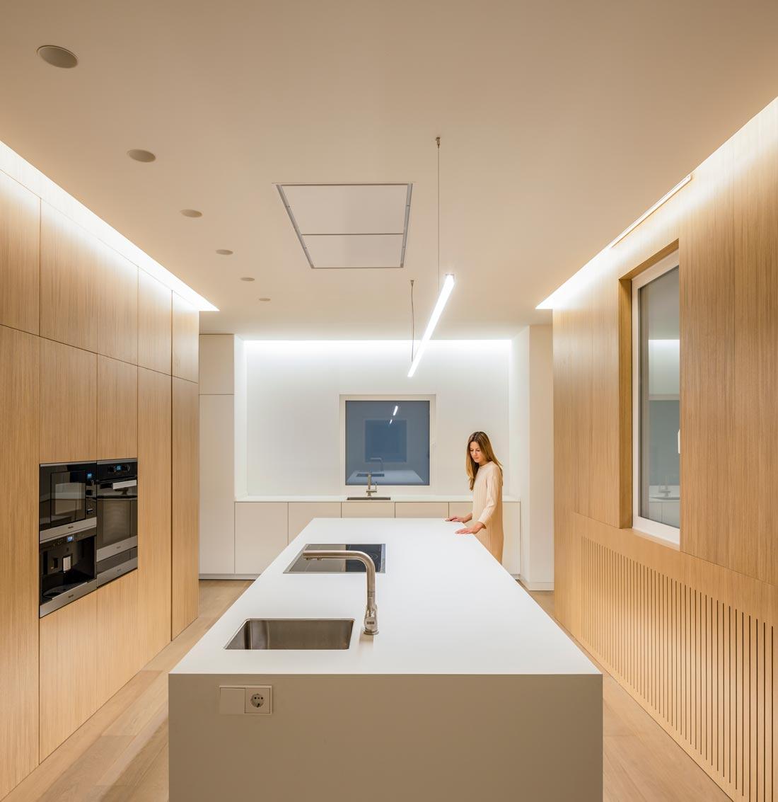 mayordomo architecture homu spanish architects kitchen island