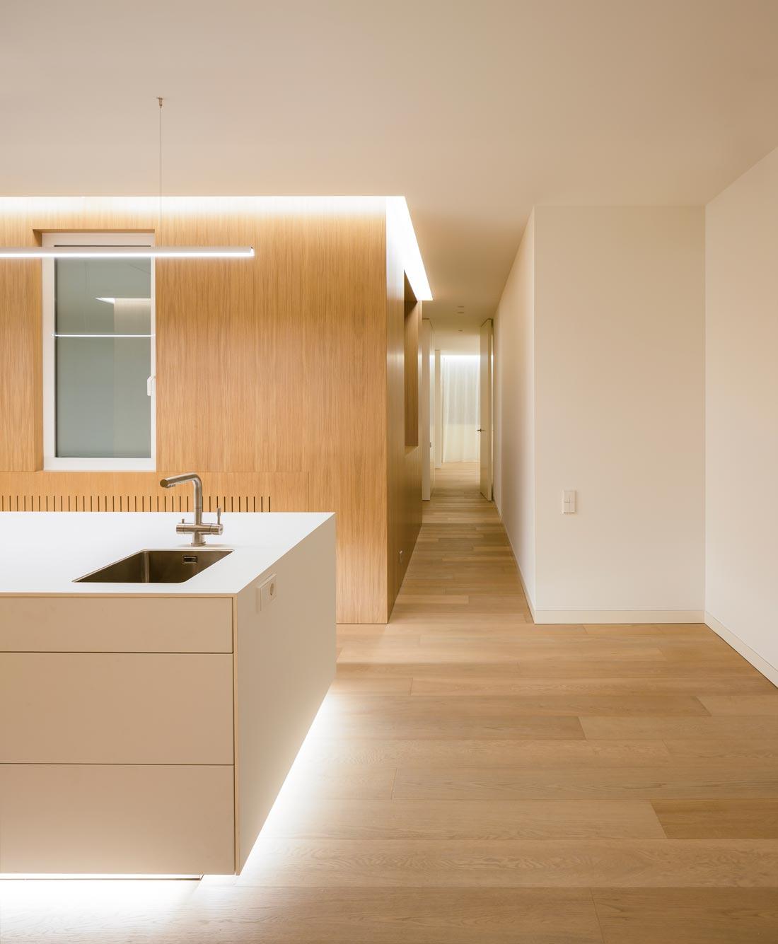 mayordomo architecture homu spanish architects white kitchen