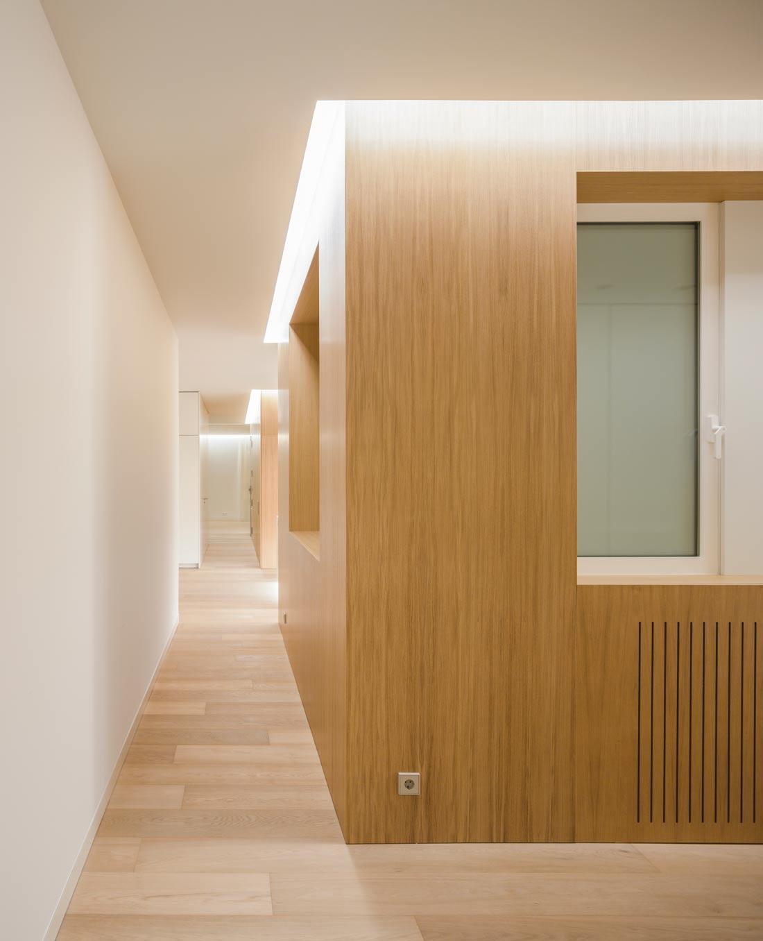 mayordomo architecture homu spanish architects wood paneling