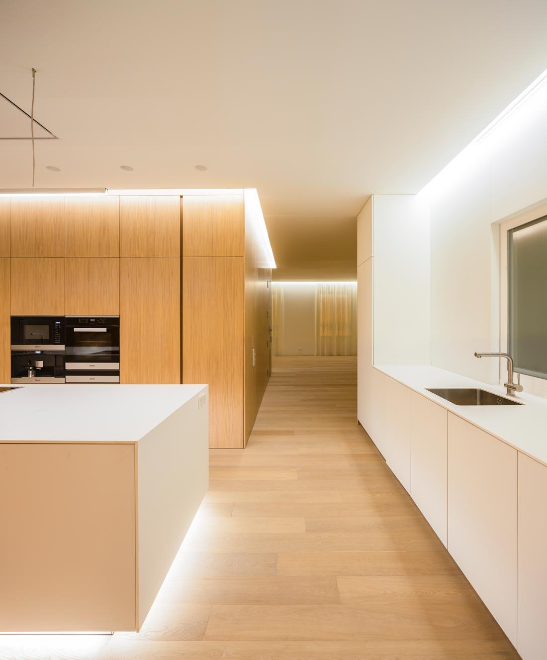 mayordomo architecture homu spanish architects minimalist wood kitchen