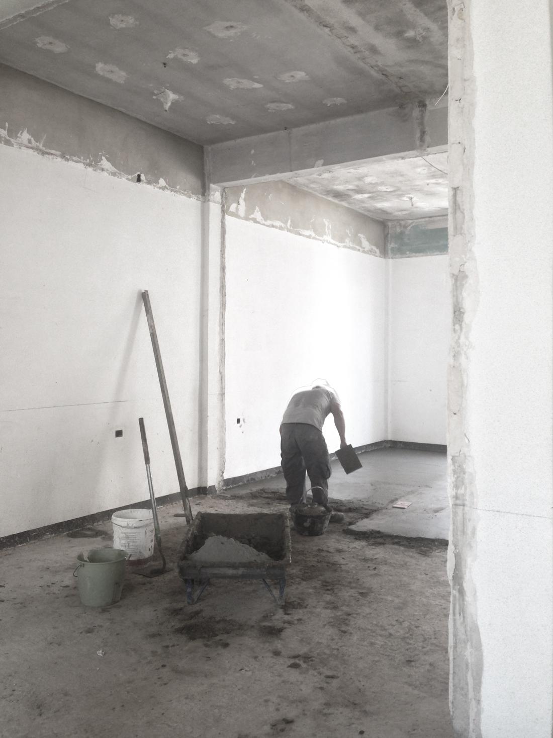 reforma ático babel arquitecto valencia visita de obra