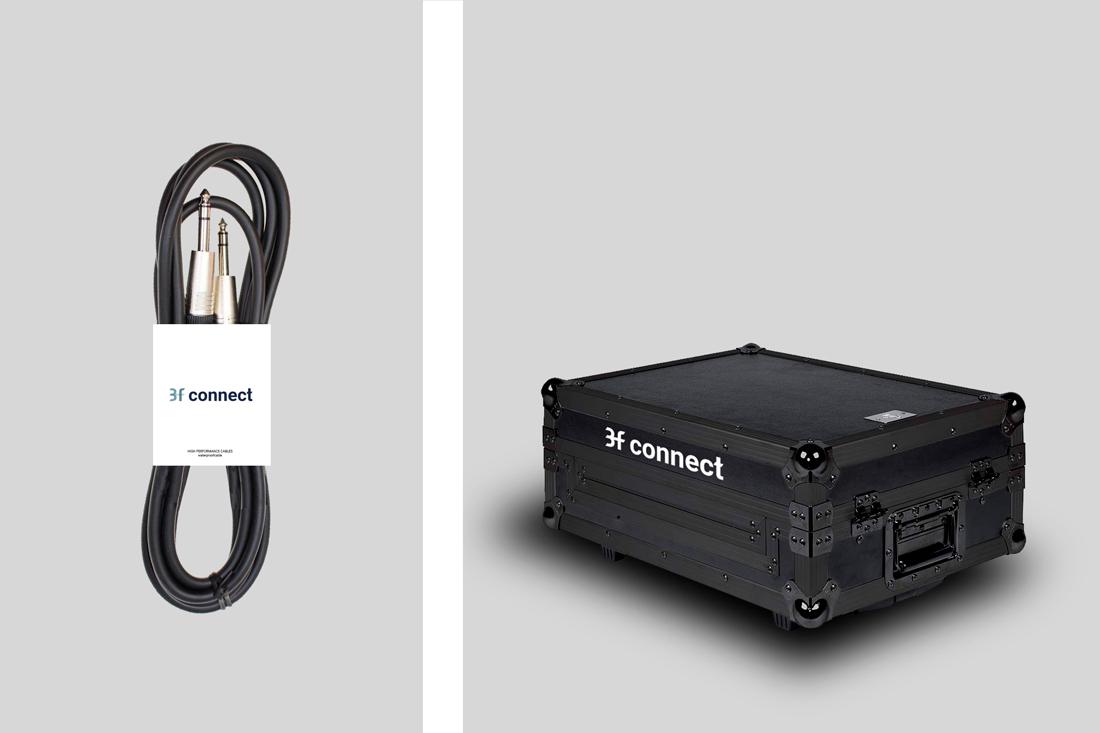 diseño de marca e identidad 3f connect electrics solutions maletín transportar cableado electrico